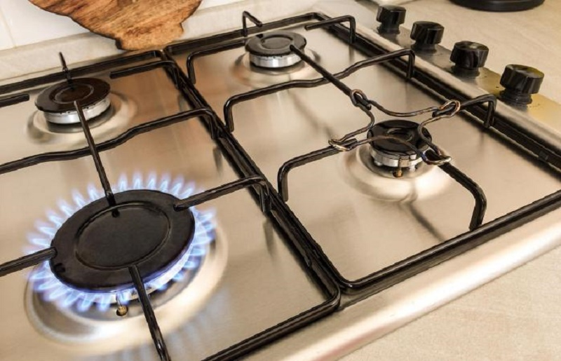 How to clean a gas stove