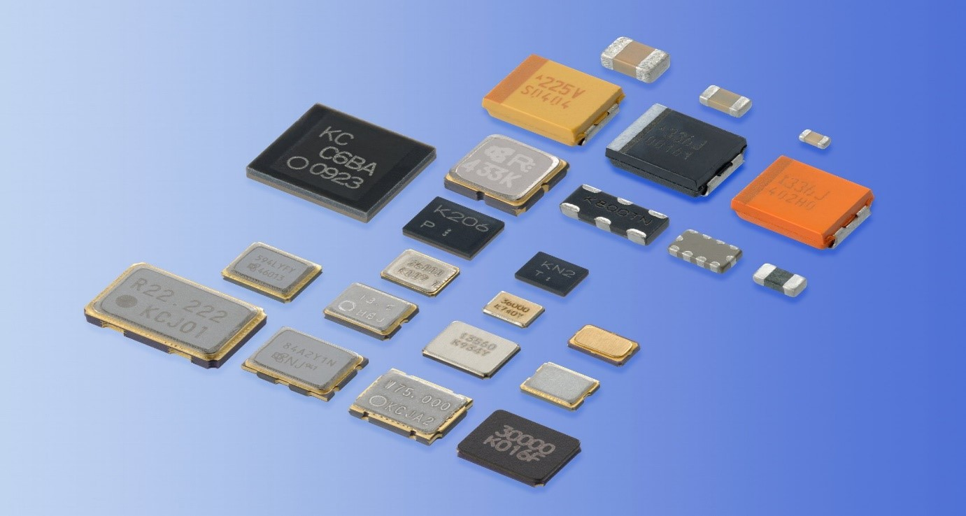 Materials used in the manufacture of electronic components