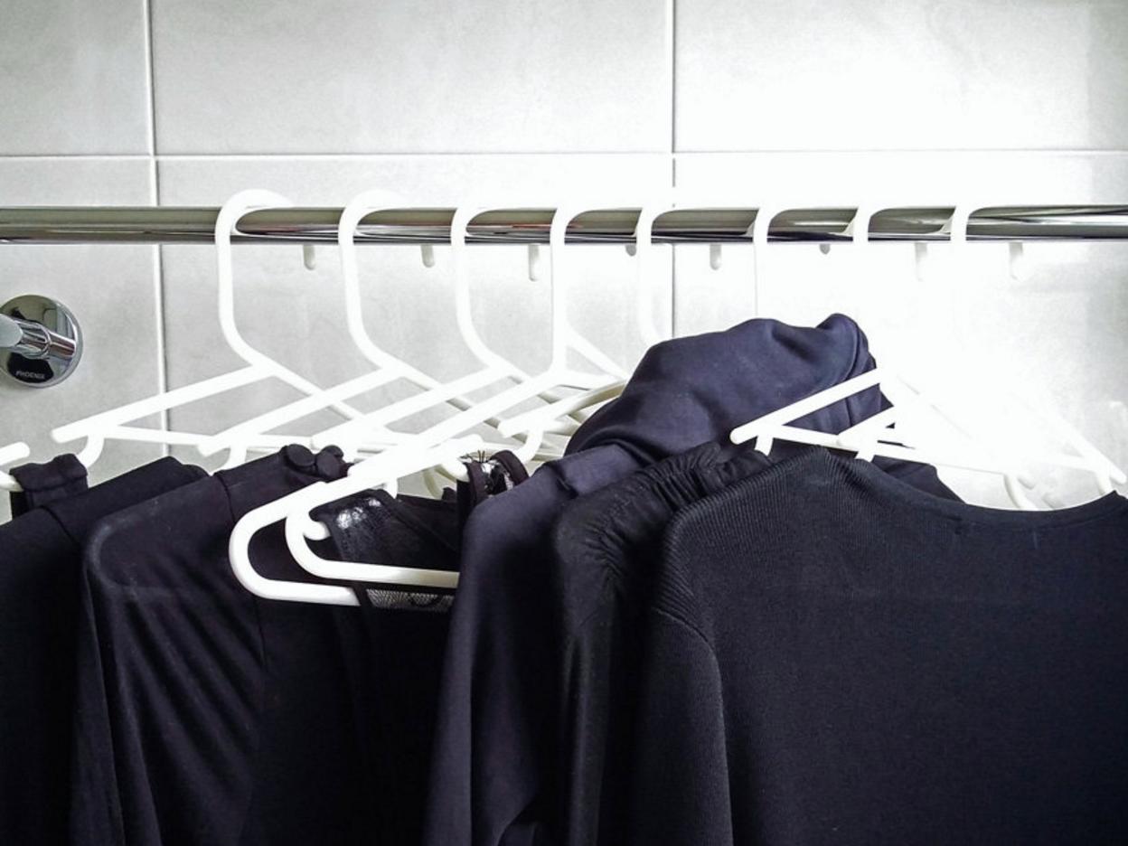 keep black clothes