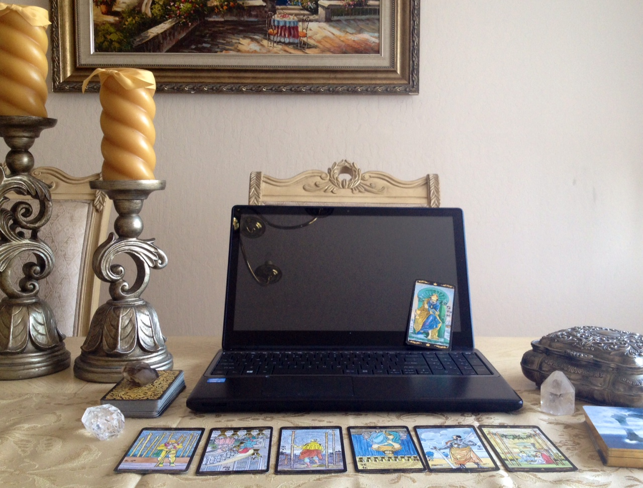 tarot reading business