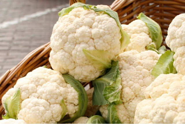 Cauliflower with white sauce recipe