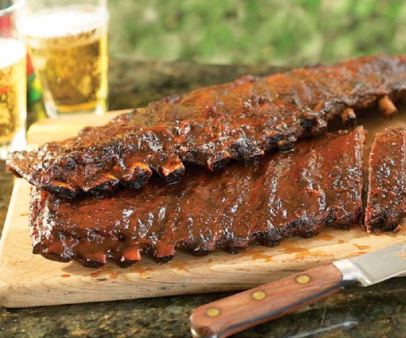 Grilled ribs recipe